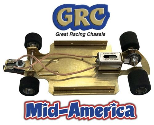 READY TO RUN 4.5 INCH BRASS GRC NO BODY from Mid America parma fcr clone