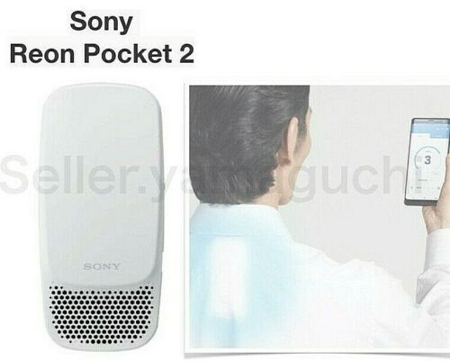 SONY REON POCKET 2 RNP-2/W ver.2021 IN STOCK cold and warm Wearable Thermo RNP2
