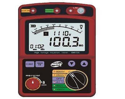 High Voltage 5kv Insulation Resistance Tester Meter Megohmmeter 1t Ohm Dar Pi