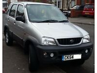 1.3cc Daihatsu Terios Tracker 4x4 - MOT Nov 17 - cheap to run,tax & insure