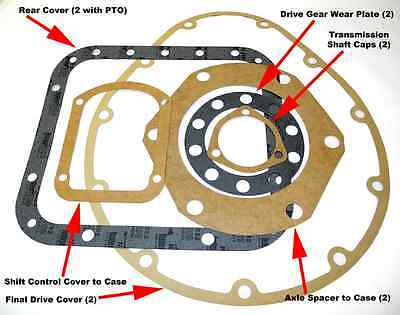 Rear Cover Gasket - Cletrac Hg Oliver Oc-3 Oc-4 Oc-46 Crawlers Loaders Dozers