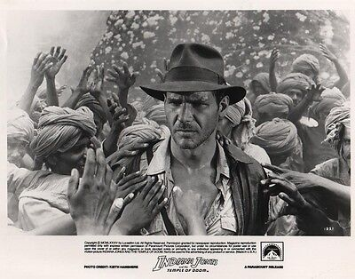 Indiana Jones and the Temple Of Doom photo print (a) - Harrison Ford
