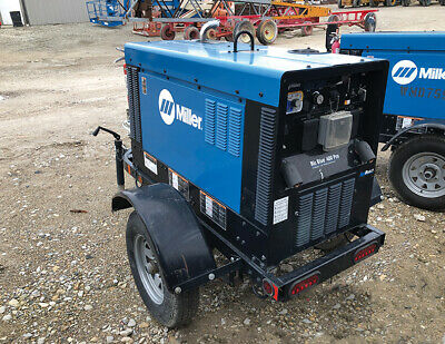 Miller 2017 907732001 Big Blue 400 W Travel Pkg Kubota Diesel Engine Arcreach