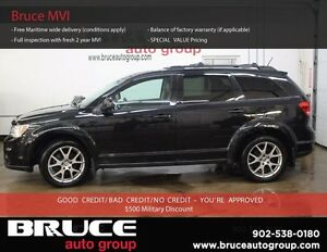 2012 Dodge Journey R/T 7 PASSENGER AWD LEATHER INTERIOR, PREMIUM
