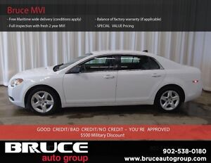 2012 Chevrolet Malibu LS 2.4L 4 CYL AUTOMATIC FWD 4D SEDAN