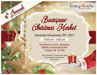 4th Annual Bearspaw Christmas Market - Sat November 25, 2017