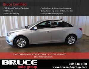2013 Chevrolet Cruze LT 1.4L 4 CYL TURBOCHARGED AUTOMATIC FWD 4D