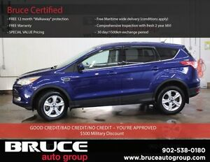 2015 Ford Escape SE 1.6L 4 CYL ECOBOOST AUTOMATIC 4WD HEATED SEA