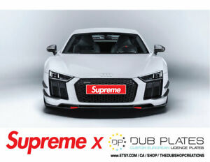 Supreme Decals - Automotive Decals - Supreme Brand