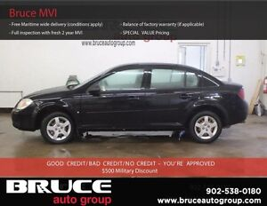 2007 Chevrolet Cobalt LS 2.2L 4 CYL ECOTEC 5 SPD MANUAL FWD 4D S