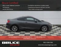 2012 Honda Civic Cpe SI 2.4L 4CYL FWD MANUAL