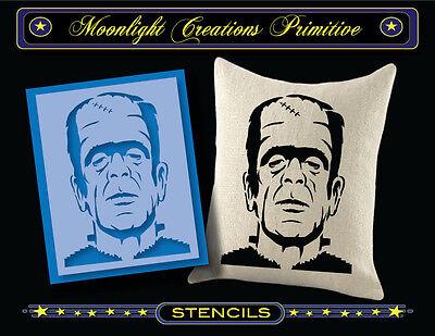 Halloween Stencil~Vintage~FRANKENSTEIN MONSTER~Classic Halloween scary - Halloween Stencils Scary