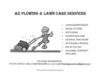Lawn Care and Grass Cutting Services (Most Yard $35.00)