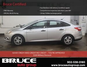 2014 Ford Focus S 2.0L 4 CYL AUTOMATIC FWD 4D SEDAN