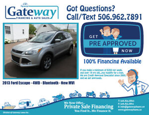 Ford Escape 4WD  - FAST Approval Financing For ALL Credit.