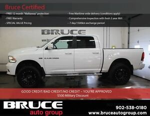 2012 Dodge RAM 1500 SPORT - LIFTED! A contender for Motor Trend
