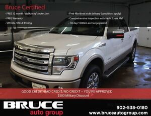 2013 Ford F-150 LARIAT 3.5L 6 CYL AUTOMATIC 4X4 SUPERCREW LEATHE