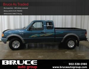 1997 Ford Ranger XL 4.0L 6 CYL AUTOMATIC 4X4 SUPERCAB
