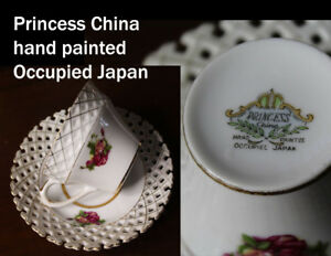 Collectors teacups and saucers