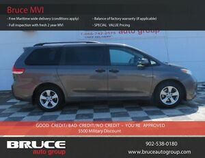 2011 Toyota Sienna 3.5L 6 CYL AUTOMATIC FWD - 7 PASSENGER