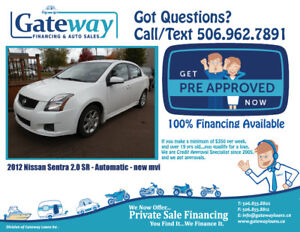 Nissan Sentra SR - FAST APPROVAL Financing  for ALL credit.