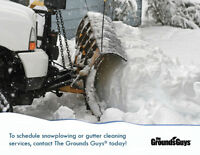 booking snow removal service from The Grounds Guys