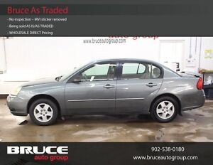 2005 Chevrolet Malibu 2.2L 4 CYL AUTOMATIC FWD 4D SEDAN