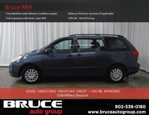 2007 Toyota Sienna CE 3.5L 6 CYL AUTOMATIC FWD 8 PASSENGER