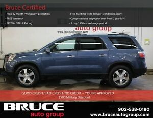 2012 GMC Acadia SLT 3.6L 6CYL AWD Leather Navigation An Insuranc