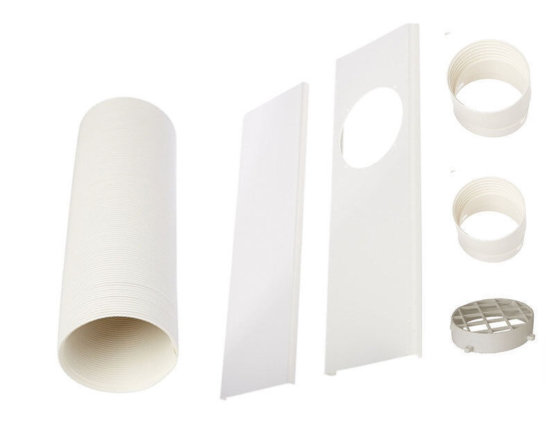 Exhaust Hose/Tube for Portable Air Conditioners-Window Kit,/
