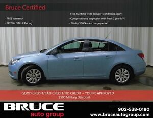 2011 Chevrolet Cruze LS 1.8L 4 CYL AUTOMATIC FWD 4D SEDAN