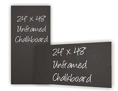 Neoplex 24 X 48 Black Chalkboard Chalk Board Menu Standard Or Liquid Chalk