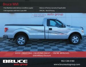 2011 Ford F-150 XLT 3.7L 6 CYL AUTOMATIC RWD REGULAR CAB $0 DOWN