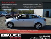 2011 Chevrolet Cruze LT Turbo 1.4L 4CYL FWD !!BUY A CAR AND YOU