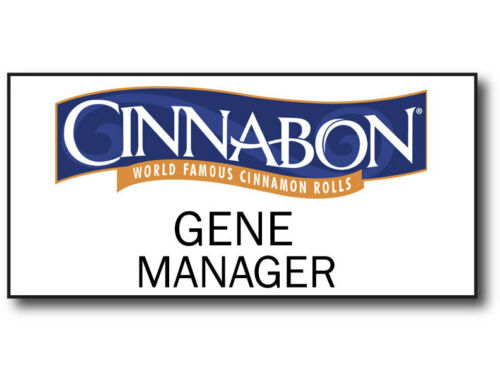NAME BADGE & BUTTON HALLOWEEN COSTUME BETTER CALL SAUL CINNABON MAGNET FASTENER