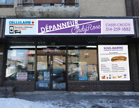 Depanneur  and Casse-Croute for sale