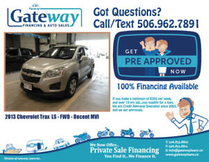 2013 Chevrolet Trax - Fast  Approvals For All Credit  Type