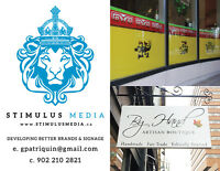 Commercial Vinyl Signage and Design