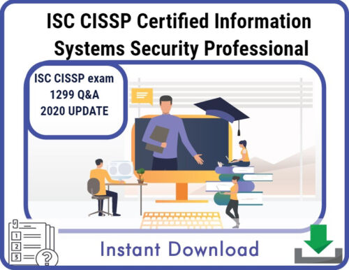 ISC CISSP Certified Information Systems Security PRO Actual Exam Dump 2020