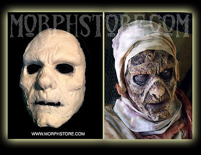 Halloween Foam latex Decayed Mummy Mummra Face Brows Mask lot.