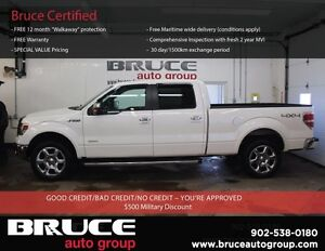 2014 Ford F-150 LARIAT 3.5L 6 CYL ECOBOOST AUTOMATIC 4X4 SUPERCR