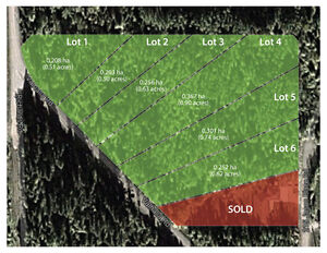 Six Individual Lots for Sale