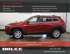 2015 Jeep Cherokee North 2.4L 4 CYL AUTOMATIC 4X4 Named a finali