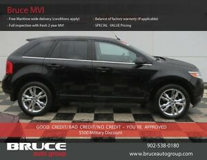 2011 Ford Edge LIMITED 3.5L 6 CYL AUTOMATIC AWD LEATHER INTERIOR