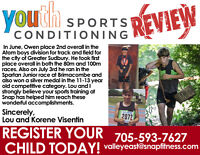 YOUTH SPORTS CONDITIONING IN THE VALLEY!