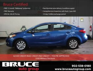 2014 Kia Forte LX 1.8L 4 CYL AUTOMATIC FWD 4D SEDAN SATELLITE RA