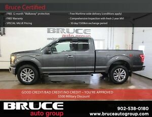 2015 Ford F-150 XLT 5.0L 8 CYL AUTOMATIC 4X4 SUPERCAB HEATED SEA