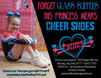 Come try a night of Cheerleading