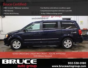 2015 Dodge Grand Caravan Crew+ 3.6L 6 CYL AUTOMATIC FWD - 7 PASS