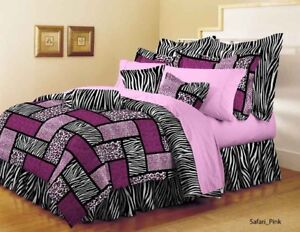 Safari Pink 6-Pc. Bedroom Set - King NEW